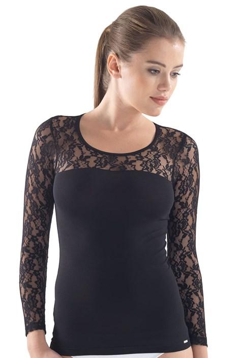 Женская элегантная футболка Lexie с кружевом
