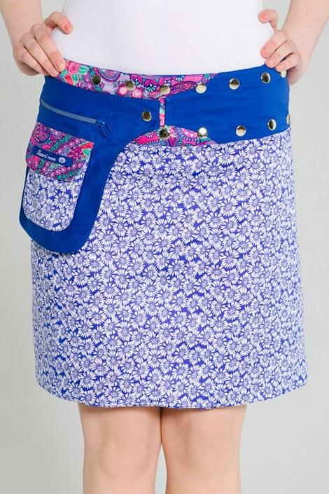 Двусторонняя юбка Bombay ручная работа из 100% хлопка