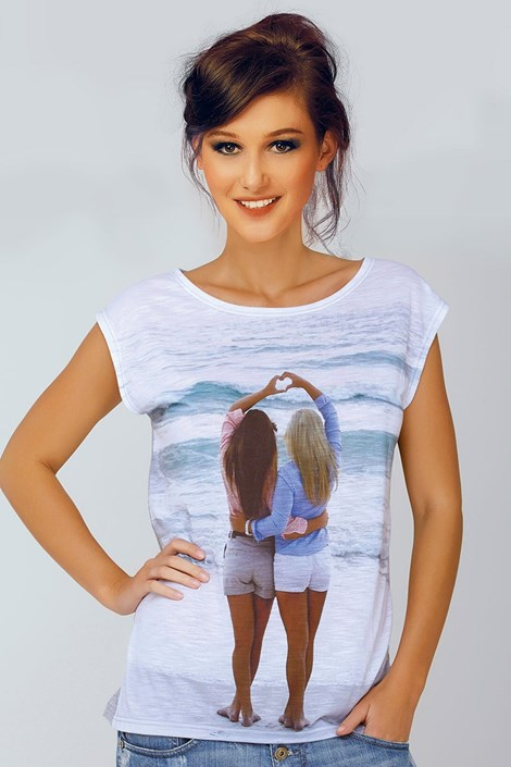 Женская итальянская футболка Jadea 4528