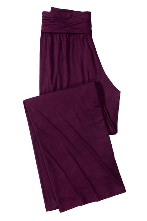 Женские комфортные штаны Fashion Bordo