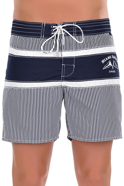 Мужские итальянские плавки-шорты 5952D6 - удлиненнные