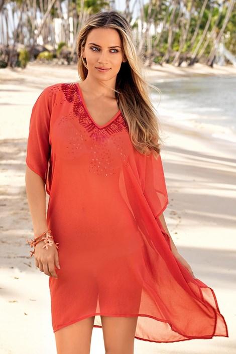 Роскошное итальянское пляжное платье из коллекции Iconique 642 KW