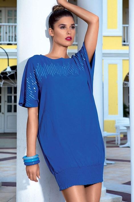 Роскошное летнее платье из коллекции David Mare 6609 Blue