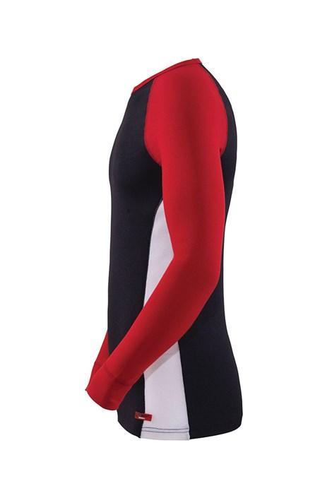 Универсальная функциональная футболка Black с длинными рукавами