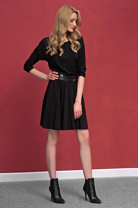 Женское романтическое трикотажное платье Altea Black