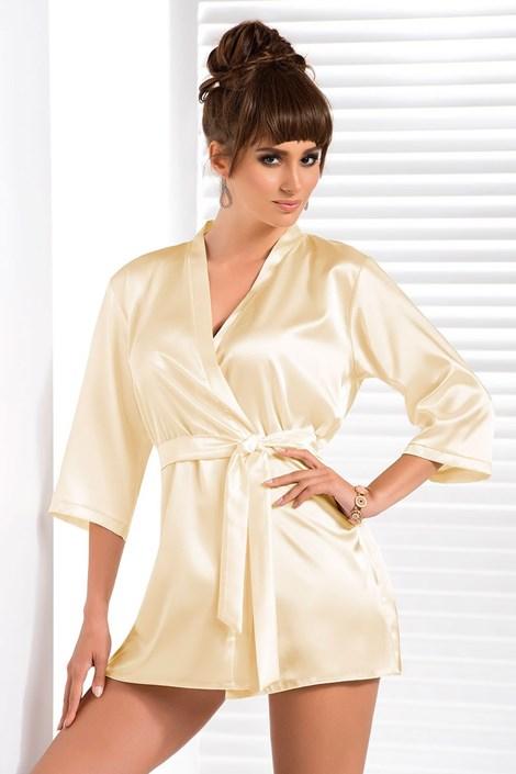 Элегантный халатик Aria Cream