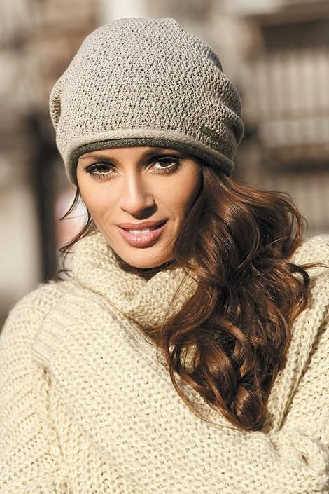 Женская шапка Benita Beige