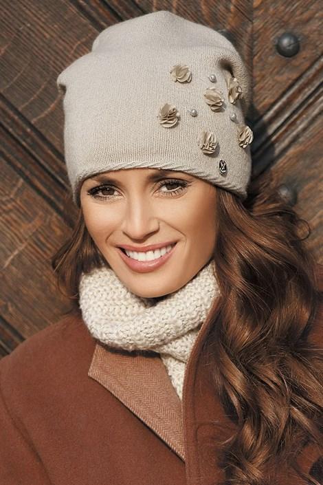 Женская шапка Clarisa Beige