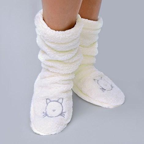 Теплые носочки Duffy Ecru