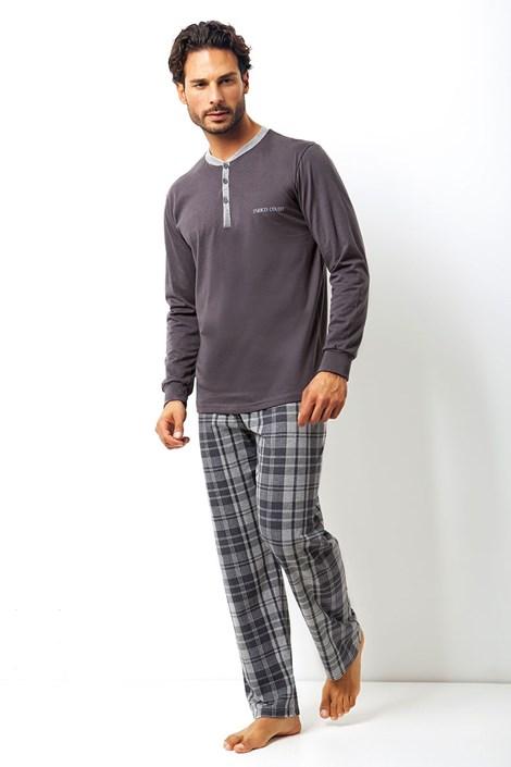 Мужской хлопковый комплект Placido - кофта, брюки