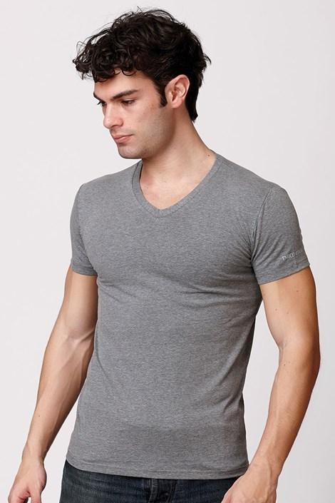 Мужская итальянская футболка Enrico Coveri ET1505 Grimel хлопковая
