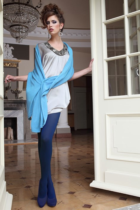 Элегантные колготки Glamour Soft Blue