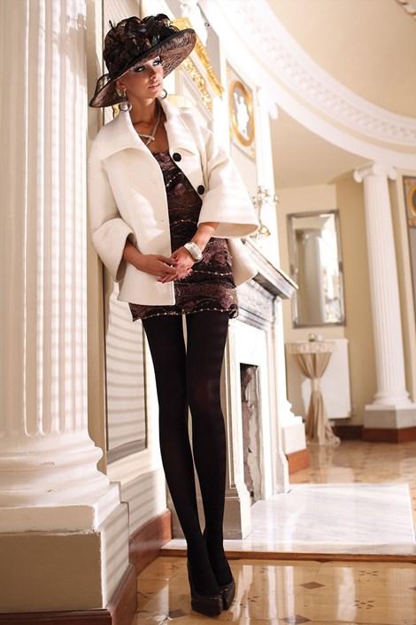 Элегантные колготки Glamour Soft Black