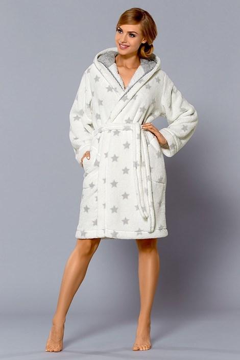 Женский халат Joy White