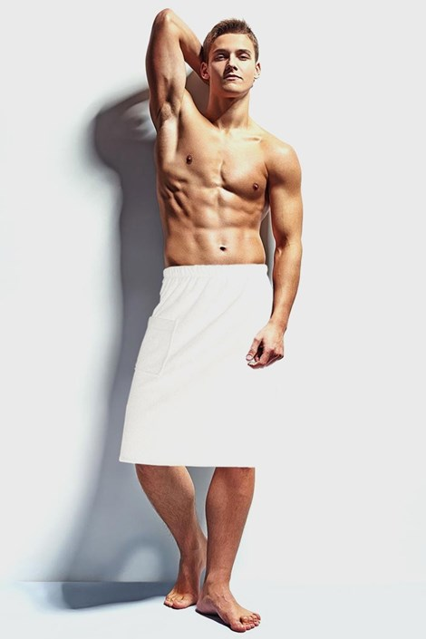 Мужское полотенце для сауны