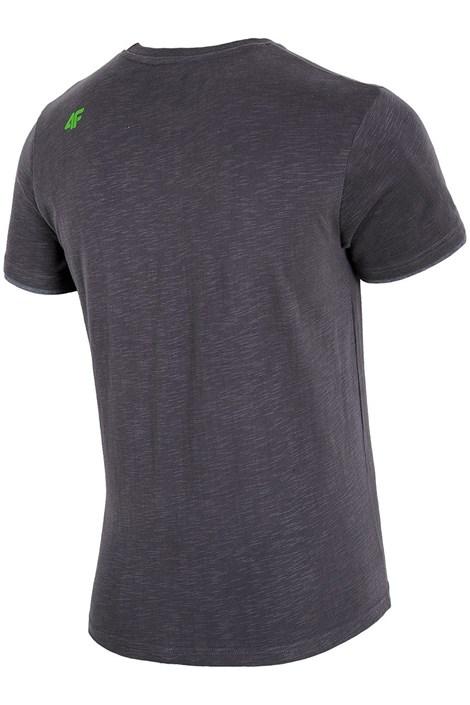 Мужская брендовая футболка 4F TSM00 Grey