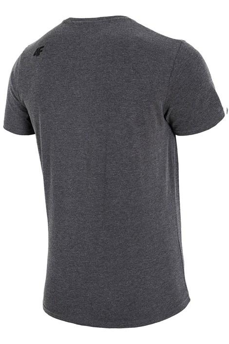Мужская брендовая футболка 4F TSM016 Grey