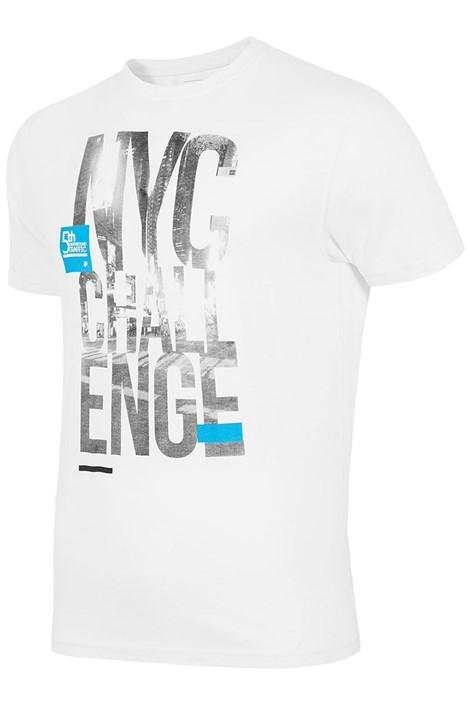 Мужская брендовая футболка 4F TSM020 White