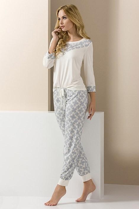 Элегантная женская пижама Carol длинная