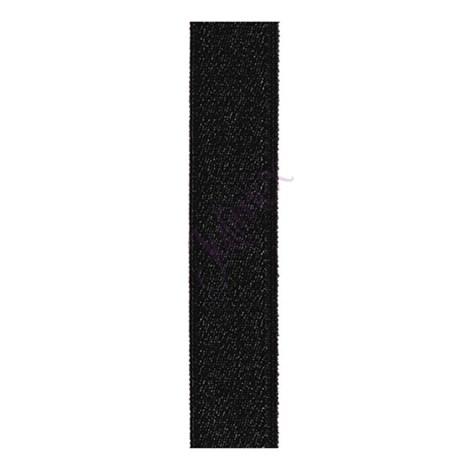 Текстильные бретели 18 мм черные