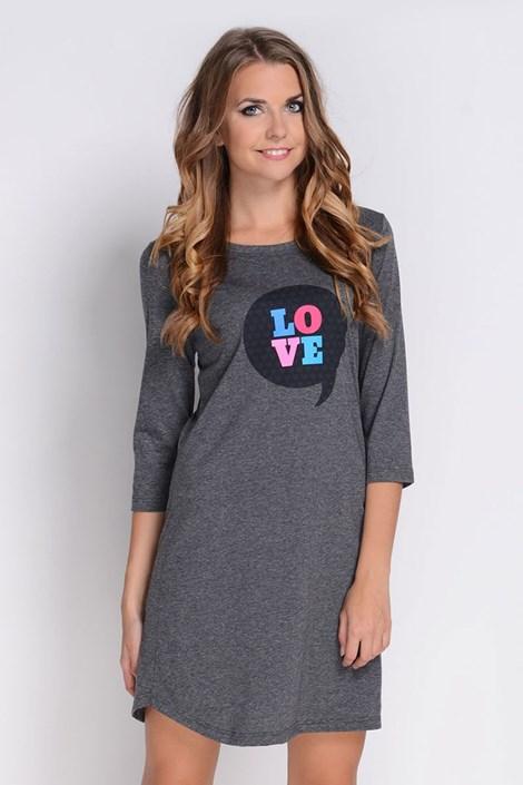 Женская ночная сорочка Love Grafit