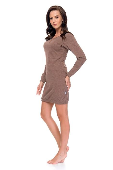 Женская ночная сорочка Simple hnědá