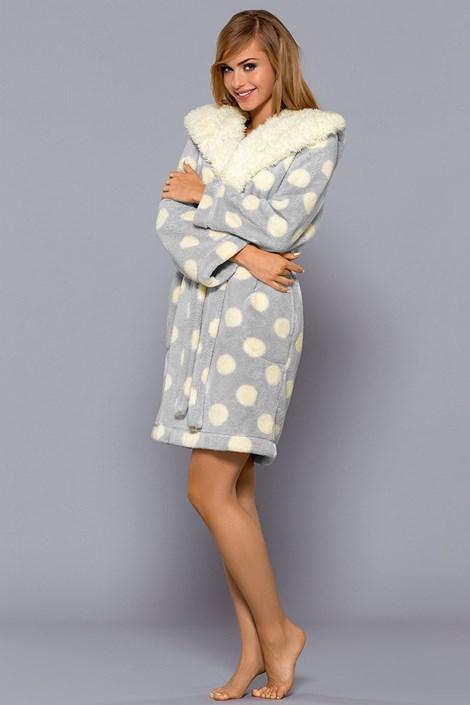 Женский халат Tuppy Grey
