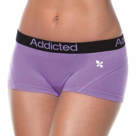 Боксерки Addicted фиолетовые