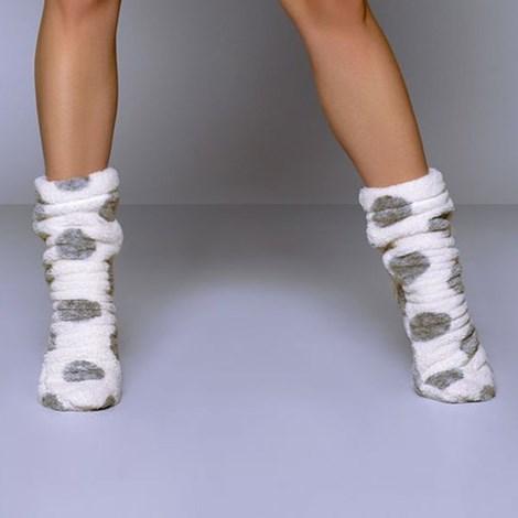Теплые носочки Darcy White