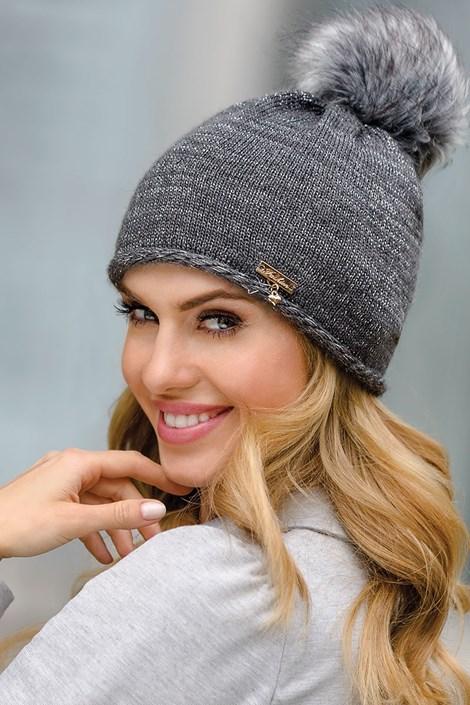 Женская шапка Dulce Grafit