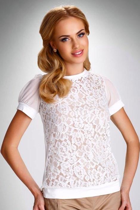 Женская кружевная блуза Fiorella