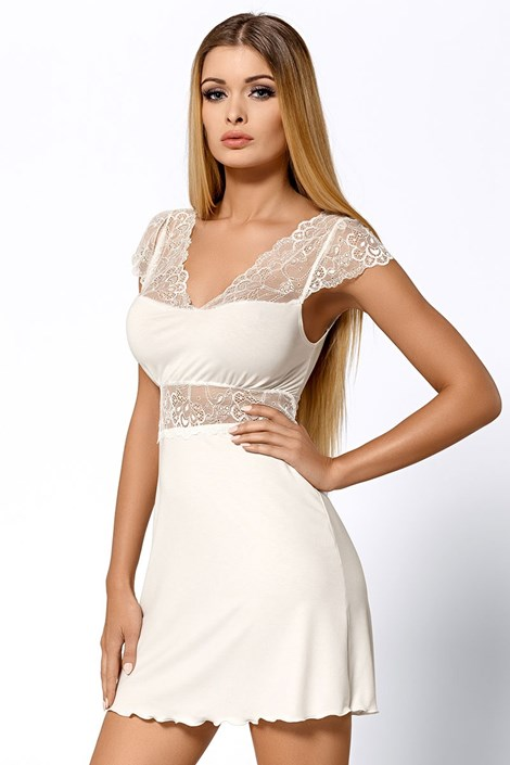 Элегантная сорочка Helen Ecru