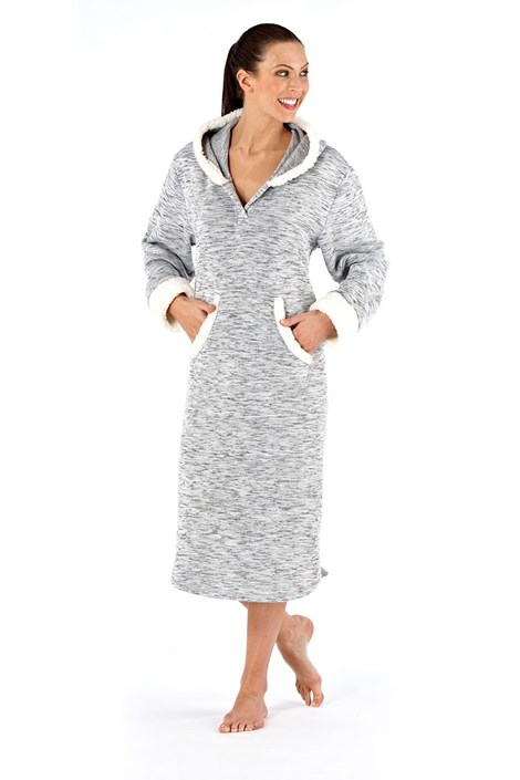 Женский теплый халат Hope