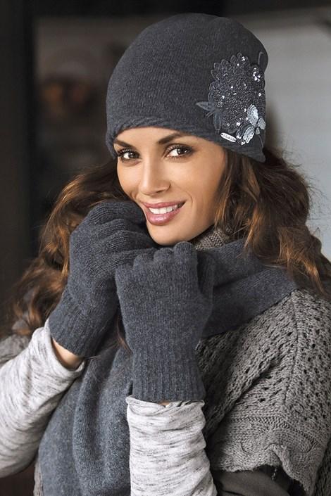 Женская шапка Juana Grafit