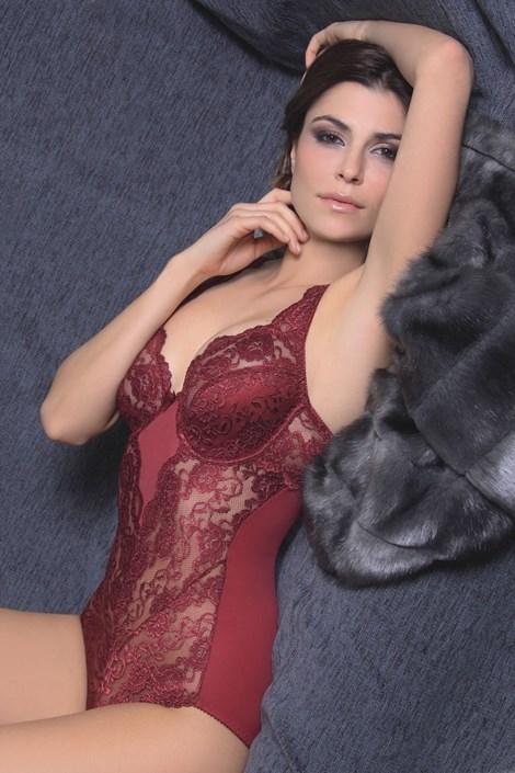Женское боди с бюстгальтером Lace