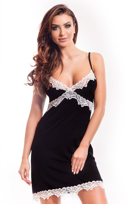 Элегантная сорочка Madlen black