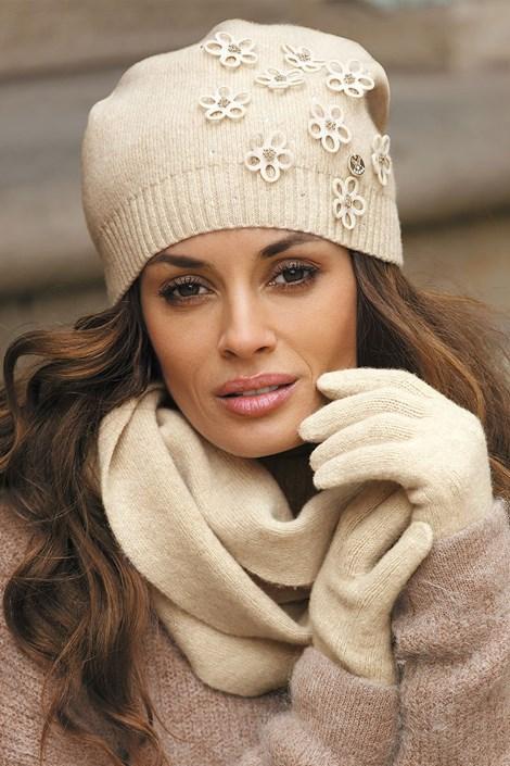 Женская шапка Marianella Beige