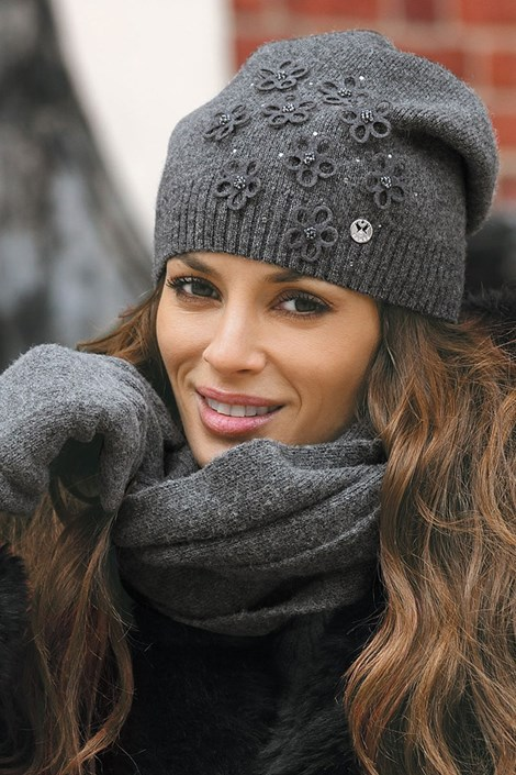 Женская шапка Marianella Grafit