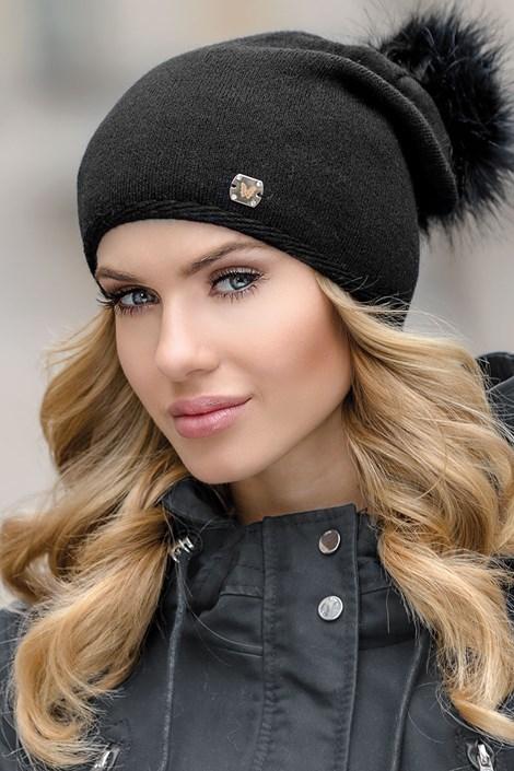 Женская шапка Pia Black