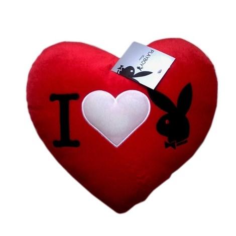 Подушка Heart Bunny Red