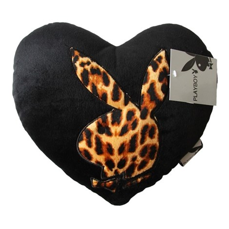 Подушка Leopard srdíčko