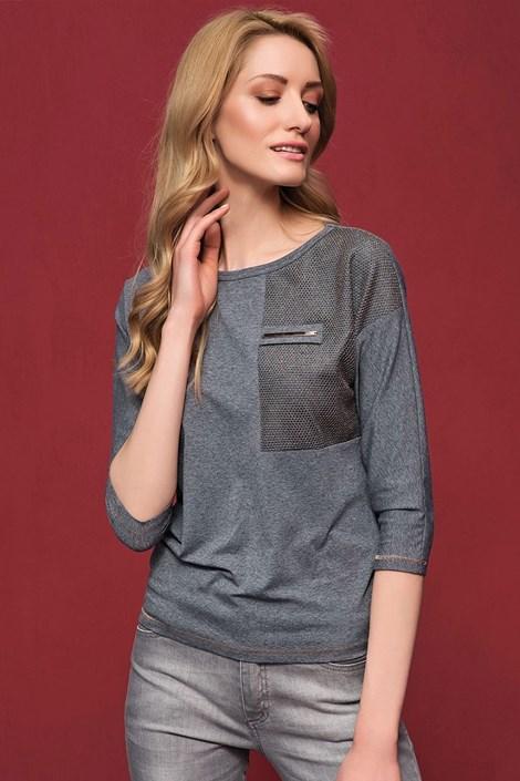 Женская роскошная блуза Sati Grey