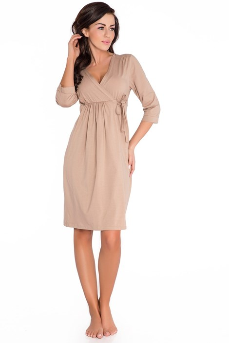 Женский халат Lea коричневый