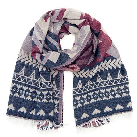 Теплый шарфик Autumn в оригинальном дизайне