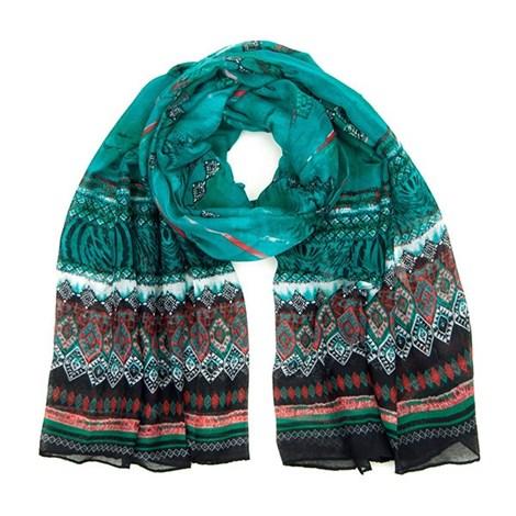 Привлекательный шарфик Orient зеленый
