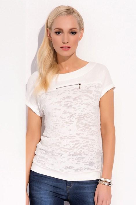Женская роскошная футболка Verona 006 слегка прозрачная