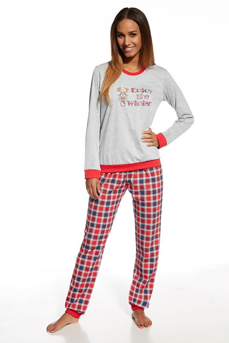 Женская хлопковая пижама Winter