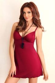 Элегантная сорочка Rose Bordó