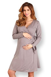 Сорочка для будущих мам Mama Dots