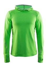 Мужская функциональная толстовка CRAFT Mind Hood зеленая